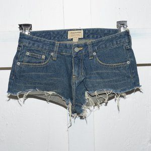 Abercrombie & fitch womens cut off shorts size 0